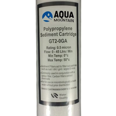 Polyspun sediment cartridge