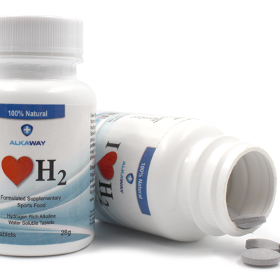 Hydrogen rich water tablets