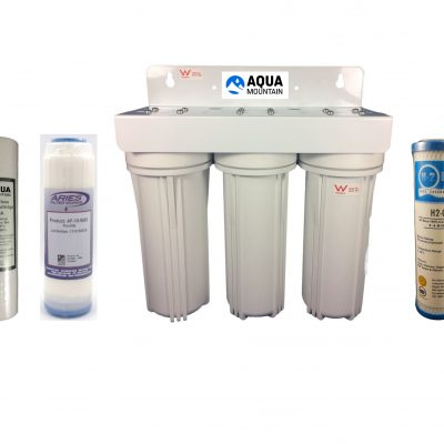 Fluoride Reduction Under Sink Water Filter