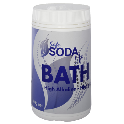 Safe Soda Bath Bicarb Soda to alkalize your skin