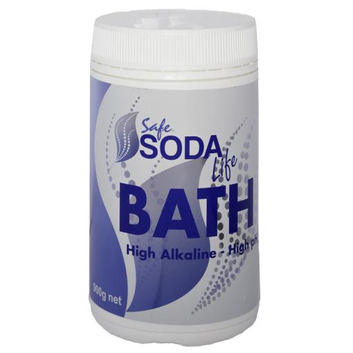 Safe Soda Bath Bicarb Soda to alkalize your skin