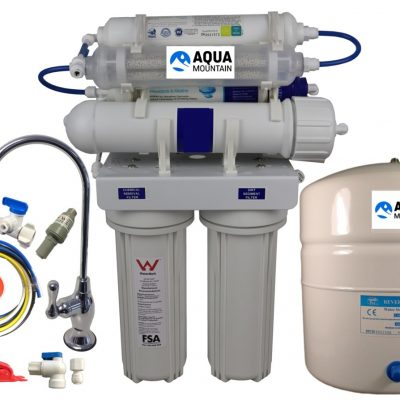 Reverse Osmosis 7 Stage Alkaline Under Sink Water Filter
