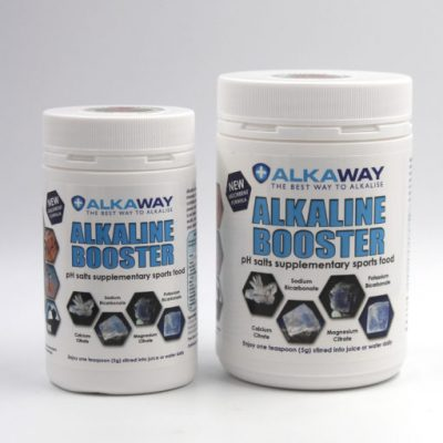Alkaline booster to increase body pH and alkalinity